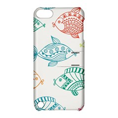 Fish Apple Ipod Touch 5 Hardshell Case With Stand by Jojostore