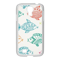 Fish Samsung Galaxy S4 I9500/ I9505 Case (white)