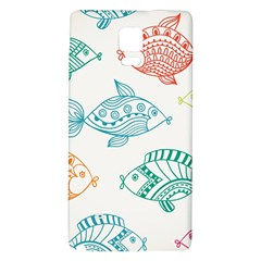 Fish Galaxy Note 4 Back Case