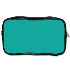 Green Blue Toiletries Bags 2 Side by Jojostore