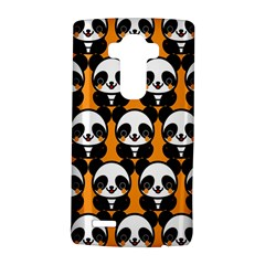 Halloween Night Cute Panda Orange Lg G4 Hardshell Case by Jojostore