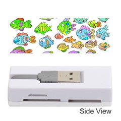 Fishes Col Fishing Fish Memory Card Reader (stick)  by Jojostore