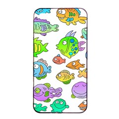 Fishes Col Fishing Fish Apple Iphone 4/4s Seamless Case (black) by Jojostore