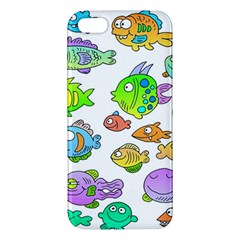 Fishes Col Fishing Fish Apple Iphone 5 Premium Hardshell Case by Jojostore