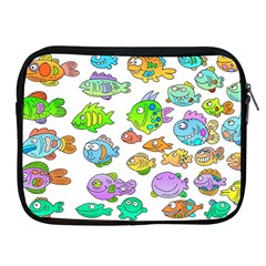Fishes Col Fishing Fish Apple Ipad 2/3/4 Zipper Cases by Jojostore