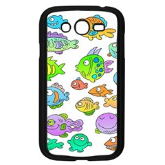 Fishes Col Fishing Fish Samsung Galaxy Grand Duos I9082 Case (black)