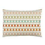 Lab Pattern Hexagon Multicolor Pillow Case (Two Sides) Back