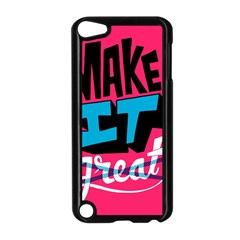 Make It Apple Ipod Touch 5 Case (black)
