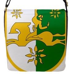 Coat Of Arms Of Abkhazia Flap Messenger Bag (s) by abbeyz71