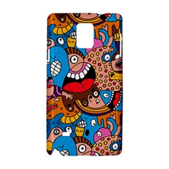 People Face Fun Cartoons Samsung Galaxy Note 4 Hardshell Case