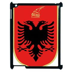 Coat Of Arms Of Albania Apple Ipad 2 Case (black)
