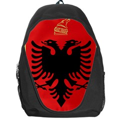 Coat Of Arms Of Albania Backpack Bag by abbeyz71