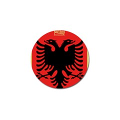 Coat Of Arms Of Albania Golf Ball Marker (10 Pack) by abbeyz71