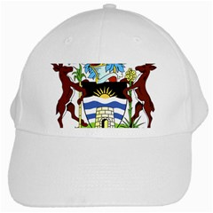 Coat Of Arms Of Antigua And Barbuda White Cap by abbeyz71