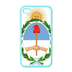 Coat Of Arms Of Argentina Apple Iphone 4 Case (color)