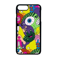 Another Weird Pattern Apple Iphone 7 Plus Seamless Case (black) by Jojostore