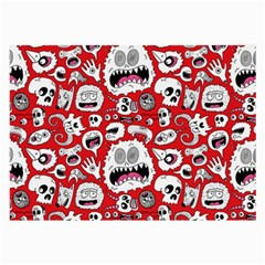Another Monster Pattern Large Glasses Cloth by Jojostore