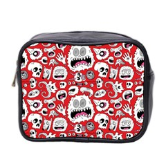Another Monster Pattern Mini Toiletries Bag 2 Side