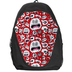 Another Monster Pattern Backpack Bag by Jojostore