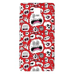 Another Monster Pattern Galaxy Note 4 Back Case