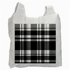 Black Recycle Bag (two Side)