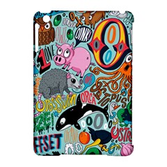 Alphabet Patterns Apple Ipad Mini Hardshell Case (compatible With Smart Cover) by Jojostore