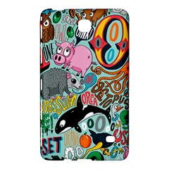 Alphabet Patterns Samsung Galaxy Tab 4 (8 ) Hardshell Case  by Jojostore