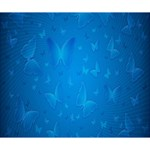 Butterflies Blue Butterfly Deluxe Canvas 14  x 11  14  x 11  x 1.5  Stretched Canvas