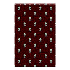 Bloody Cute Zombie Shower Curtain 48  X 72  (small)