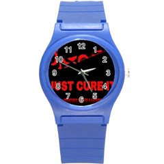 Picsart 1481928493581 2016 07 8  13 18 34 Round Plastic Sport Watch (s) by shawnstestimony