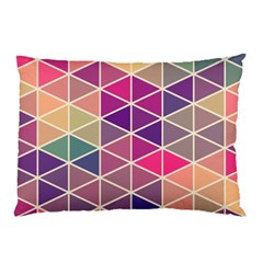 Chevron Colorful Pillow Case (two Sides) by Jojostore