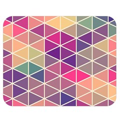 Chevron Colorful Double Sided Flano Blanket (medium)  by Jojostore