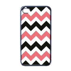 Chevron Crazy On Pinterest Blue Color Apple Iphone 4 Case (black) by Jojostore