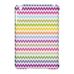 Color Full Chevron Apple Ipad Mini Hardshell Case (compatible With Smart Cover)