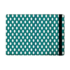 Circular Pattern Blue White Ipad Mini 2 Flip Cases by Jojostore