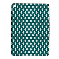 Circular Pattern Blue White Ipad Air 2 Hardshell Cases by Jojostore