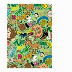 D Pattern Small Garden Flag (two Sides)