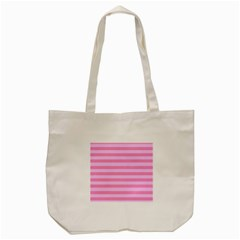 Fabric Baby Pink Shades Pale Tote Bag (cream)