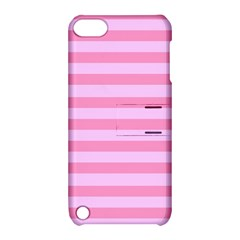 Fabric Baby Pink Shades Pale Apple Ipod Touch 5 Hardshell Case With Stand by Jojostore