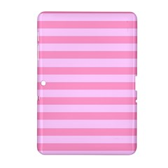Fabric Baby Pink Shades Pale Samsung Galaxy Tab 2 (10 1 ) P5100 Hardshell Case  by Jojostore