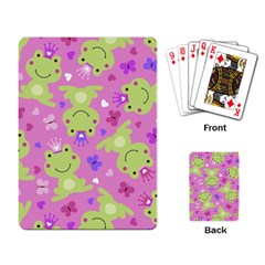 Frog Princes Playing Card