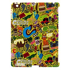 C Pattern Apple Ipad 3/4 Hardshell Case (compatible With Smart Cover)