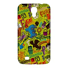 F Pattern Cartoons Samsung Galaxy Mega 6 3  I9200 Hardshell Case