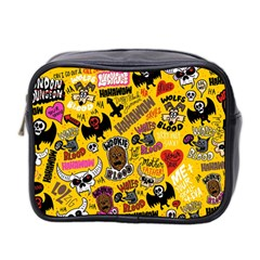 Lolzig Pattern Mini Toiletries Bag 2 Side