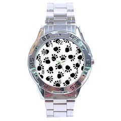 Paws Black Animals Stainless Steel Analogue Watch by Jojostore