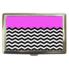 Colorblock Chevron Pattern Jpeg Cigarette Money Cases by Jojostore