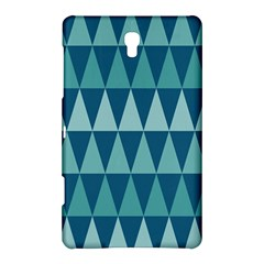Blues Long Triangle Geometric Tribal Background Samsung Galaxy Tab S (8 4 ) Hardshell Case  by Jojostore