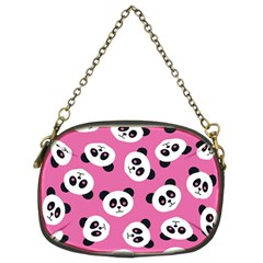 Cute Panda Pink Chain Purses (two Sides)  by Jojostore