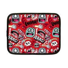 Agghh Pattern Netbook Case (small)