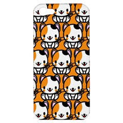 Face Cat Yellow Cute Apple Iphone 5 Hardshell Case by Jojostore
